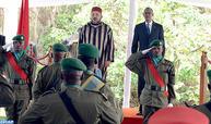 حفل استقبال رسمي على شرف جلالة الملك بكيغالي