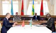 جلالة الملك والرئيس الرواندي يترأسان حفل التوقيع على 19 اتفاقية ثنائية