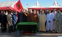 تدشين وإعطاء الانطلاقة لإنجاز عدد من المشاريع التنموية في إقليم طاطا
