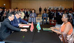 HM the King and Rwandan Pres. Chair Ceremony to Launch Morocco-Rwanda Agriculture Partnership Program
