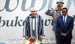 HM the King Visits Kigali Genocide Memorial