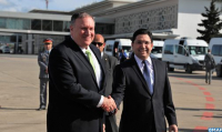 U.S. Secretary of State Michael Pompeo Arrives in Morocco for Official Visit