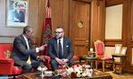 SM el Rey se entrevista a solas con el presidente de Guinea en Adís Abeba
