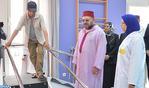 SM el Rey inaugura un centro de reeducación y readaptación funcional en Casablanca