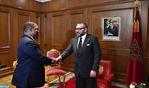 SM el Rey recibe en Adís Abeba al embajador de Suazilandia en Etiopía, portador de un mensaje verbal del Rey de Suazilandia