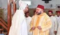 SM el Rey Mohammed VI, Amir Al Muminin, cumple la oración del viernes en la mezquita Ibrahim AL Khalil en Casablanca