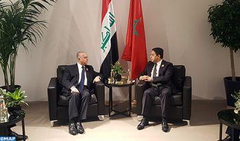 M. Bourita tient à Beyrouth une série d'entretiens en marge du sommet arabe sur le développement économique et social