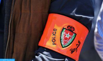 Sidi Kacem : Un brigadier de police contraint d'utiliser son arme de service pour arrêter un individu qui mettait en danger la vie de citoyens et d'éléments de police (DGSN)