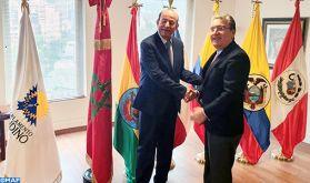 Le nouveau président du Parlement andin réaffirme le soutien de cette instance législative à l'intégrité territoriale du Royaume