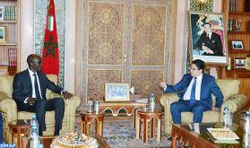 M. Bourita reçoit le ministre de l'Economie et de la planification du développement du Tchad, porteur d'un message à SM le Roi