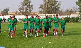 CAN-2019 : première séance d'entraînement de l'équipe nationale au Caire
