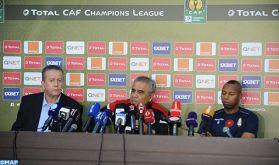 """Ligue des champions d'Afrique (finale aller): """"Nous allons essayer d'imposer notre style de jeu, tout en prenant du plaisir sur le terrain"""" (F. Benzarti)"""