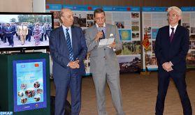 Exposition au Palais des Nations à Genève sur la contribution du Maroc aux opérations de maintien de la paix et à l'action humanitaire dans le monde