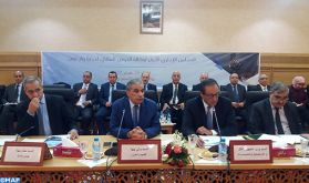 Tenue du premier conseil d'administration de l'Agence du bassin hydraulique de Drâa-Oued Noun
