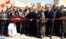 M. Amara s'informe de l'état d'avancement des projets routiers dans la région de Guelmim-Oued Noun