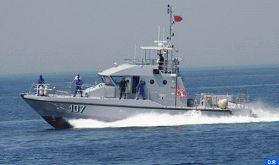 Saisie par la Marine Royale de plus de 4 tonnes de chira au large d'Assilah (source militaire)