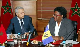 Le transport aérien et l'artisanat au centre d'entretiens entre M. Sajid et la Première ministre de la Barbade