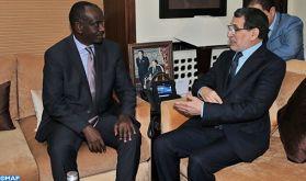 M. El Otmani s'entretient avec le ministre rwandais des Affaires étrangères