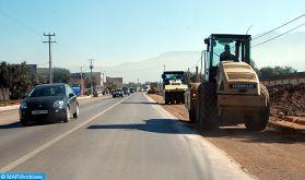 Coupure provisoire  le 10 janvier de la route provinciale n°5108 reliant Missour à Njil