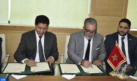 Signature d'une convention entre la MAP et la région de l'Oriental pour mettre en valeur les projets et les réalisations de la région