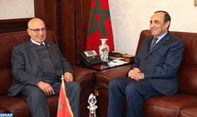 Nabil Shaath se félicite du soutien constant de SM le Roi en faveur du peuple palestinien