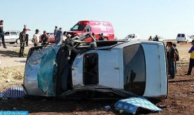 Accidents de la circulation: 19 morts et 2.091 blessés en périmètre urbain la semaine dernière