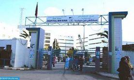 Hôpital Moulay Youssef: l'effondrement partiel du plafond d'une salle dû à des travaux d'entretien réalisés en mai dernier